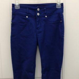 Love Fire Blue Skinny Pants